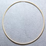 14kgfフープピアス(チューブ/1.25mm)76mm ゴールドフィルド (1個)