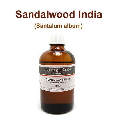 芳香蒸留水(ハイドロゾル)/サンダルウッド・インド(白檀) 100ml