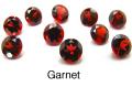 天然石ルース(裸石)・ガーネット/ラウンド【4mm】ファセットカット(20個)