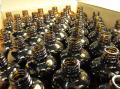 100ml用アンバー遮光瓶(穴開き栓付) 100本
