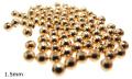 14kgf ラウンドビーズ 4mm(穴・1.5mm) スムース/シームレス「ゴールドフィルド」(20個)