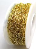 14kgf ロロチェーン オーバル 2.7×1.2mm  ゴールドフィルド 25センチ 1本