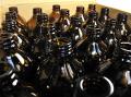 500ml用アンバー遮光瓶(中ポリ栓付) 28本