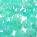 天然石ルース(裸石)アマゾナイト/カボション ローズカット(ラウンド)【4mm】(10個)