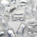 キュービックジルコニアcz【AAA】・ルース(裸石)・バゲット【3×2mm】ファセットカット(100個)