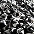 キュービックジルコニアcz【AAA】・ルース(裸石)【ブラック】/スクエア【4×4mm】ファセットカット(30個)