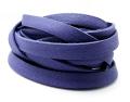 ディアタンレース(本革レース/平紐)ブルー(5mm×180センチ)(1本)