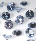 ブルーサファイア 天然石ルース(ライトブルーカラー)スリランカ・セイロン/ラウンド【3mm】マシンカット(1個)