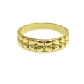 指輪 モチーフリング デザインA(真鍮ブラス・ゴールドカラー)(1個)