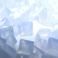 天然石ルース(裸石)・カルセドニー/スクエア【5×5mm】ファセットカット(3個)