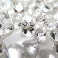 天然石ルース(裸石)・クリスタル/水晶(ブラジル)/ラウンド【9mm】ファセットカット(2個)