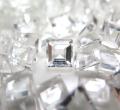 天然石ルース(裸石)・クリスタル水晶(ブラジル)/スクエア【6×6mm】ファセットカット(5個)