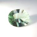 天然石ルース(裸石)フローライト(アメリカ産・非加熱)オーバル・コンケーブカット【11.05×8.77×5.53mm】(1個)