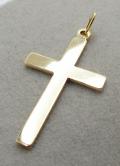 ジュエリーチャーム・ゴールドフィルド・チャーム(クロス/十字架)【R】「14kgf」(1個)