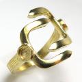 ゴールド ブラス リング 指輪空枠 3mm×2(真鍮ゴールドカラー) 1個