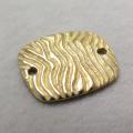 リンク【A】(15mm×13mm)(真鍮ブラス・ゴールドカラー)(5個)