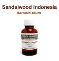 サンダルウッド(インドネシア産 白檀・ビャクダン、Santalum album)/精油30ml