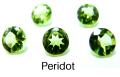天然石ルース(裸石)・ペリドット/ラウンド【4mm】ファセットカット(10個)