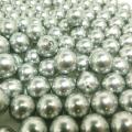 国産・貝パール(貝ミガキパール)シルバーグレー系/ビーズ(丸玉・片穴)9mm玉(10個)