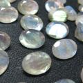 天然石ルース(裸石)ラブラドライト/オーバル【6×4mm】ファセットカット(5個)