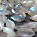 天然石ルース(裸石)ラブラドライト/マーキス【8×4mm】ファセットカット(5個)