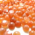 天然石ルース(裸石)・ピーチムーンストーン/カボション(ラウンド)【4mm】(20個)
