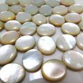 マザーオブパール ルース(裸石)・カボション(オーバル)【10×8mm】(5個)