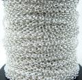 シルバーフィルド/オーバルロロチェーン(2mm)50cm(1本)