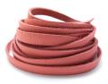 ディアタンレース(本革レース/平紐)ピンク(3mm×180センチ)(1本)