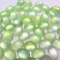 天然石ルース(裸石)・プレナイト/カボション(オーバル)【7×5mm】(8個)