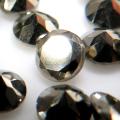 天然石ルース 裸石 パイライト ラウンド ファセットカット【4mm】 6個
