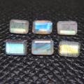 ラブラドライト 天然石ルース レクタングルカット オクタゴン 【6×4mm】(5個)