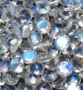 天然石ルース(裸石)・レインボームーンストーン/ファセットカット(ラウンド)【4mm】<no.1>(1個)