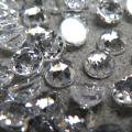 キュービックジルコニアcz(クリア)【AAA】・ルース(裸石)・/カボション ローズカット【5mm】(3個)