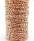 ローズゴールドフィルド・ロープチェーン(1.1mm)「14kgf」50センチ(1本)