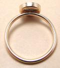 ゴールドフィルド14kgfリング・指輪パーツ(カボション・ミール皿ラウンド・8mm)(サイズ目安10~11号)(1個)