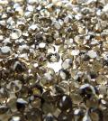 天然石ルース(裸石)・スモーキークオーツ/ラウンド【3mm】ファセットカット(20個)