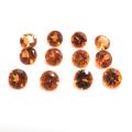 天然石ルース(裸石)・マンダリンガーネット(スペサルタイトガーネット)(ナイジェリア産・非加熱)/ラウンド【3.8mm】ファセットカット(1個)
