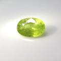 スフェーン 天然石ルース 裸石 ロシア産/非加熱 オーバル【8.1×5.8×3.8mm】ファセットカット(1個)