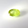 スフェーン 天然石ルース 裸石 ロシア産/非加熱 オーバル【7.2×4.8×3.4mm】ファセットカット(1個)