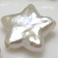 淡水パール スター 星 真珠 ルース  穴無 12~14mm 1個