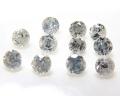 天然石ルース(裸石)・ホワイトダイヤモンド【Si1】(無処理)(インド産)/ラウンド【2mm】ファセットカット(1個)