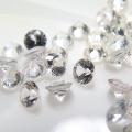 天然石ルース(裸石)・ホワイトサファイア(スリランカ産・非加熱)/ラウンド【2mm】ダイヤモンドカット(5個)