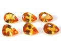 イエローサファイア ゴールデン 天然石ルース (ソンゲア産 タンザニア/加熱処理)ペアシェイプカット【6×3mm】(1個)