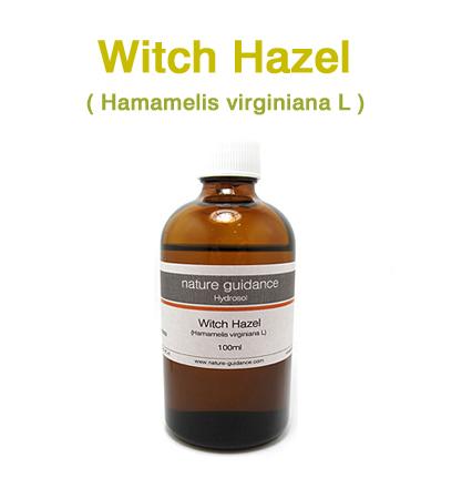 芳香蒸留水(ハイドロゾル)/ウィッチヘーゼル(ハマメリス) 100ml