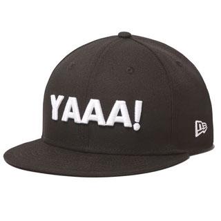 NEW ERA×ダチョウ倶楽部コラボ「YAAAA!」キャップ
