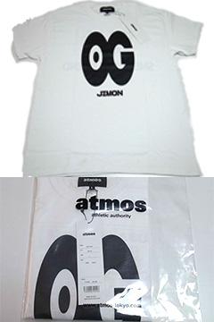 """JIMON×atmos """"OG"""" TEE JIMON,ver ホワイト"""