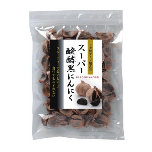 【青森産】スーパー醗酵黒にんにく 粒タイプ300g