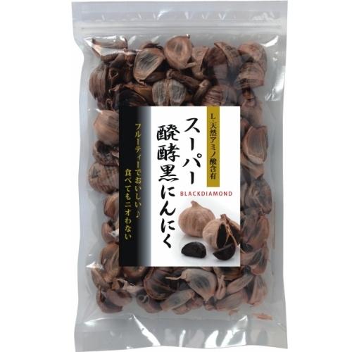 【青森産】スーパー醗酵黒にんにく 粒タイプ500g
