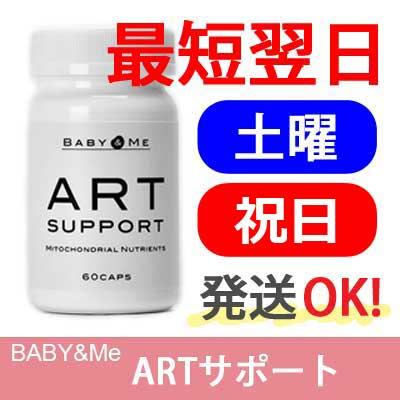 【楽天ID決済可・日曜以外発送OK】ベイビー&ミー(Baby & Me) ARTサポート【サプリメント・不妊・卵子・体外受精・顕微授精・卵子の健康に・パートナーズ】